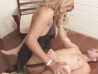 Hot Shemale Fucking A Guy In The Ass